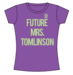 One DIRECTION: Future Mrs Tomlinson (T-SHIRT Donna )