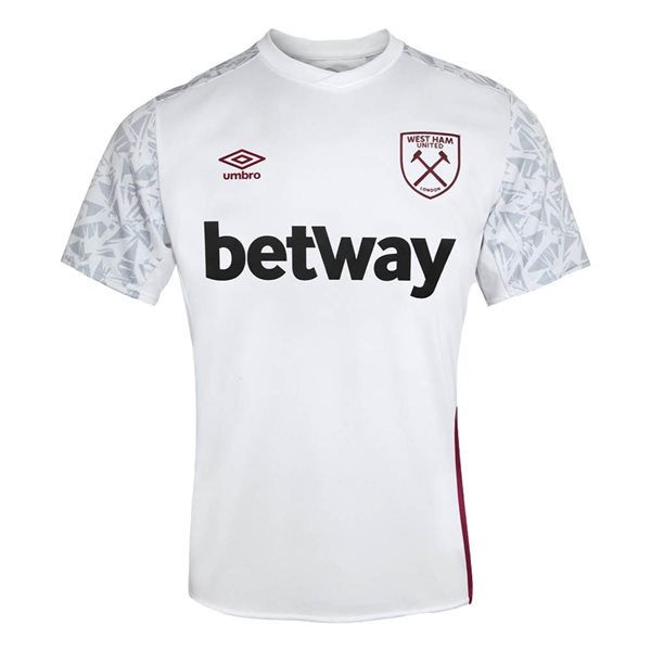 T-shirt West Ham United 2020/21 (Bianco)