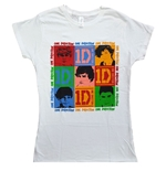 T-shirt One Direction da donna - Design: Photo Group