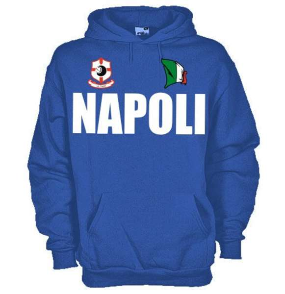 felpa Napoli nuova
