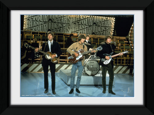 Poster The Beatles Lucky Stars