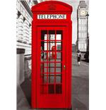 Poster London Telephone Box
