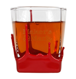 Bicchiere Maker's Mark Whisky Bourbon Red Wax