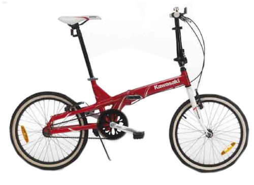 Bicicletta Pieghevole Kawasaki Folding Bike Alluminio.Acquista Bicicletta Pieghevole Kawasaki Folding Bike In Alluminio Rossa