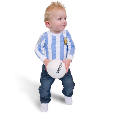 Maglia Argentina 'My First Football Shirt'