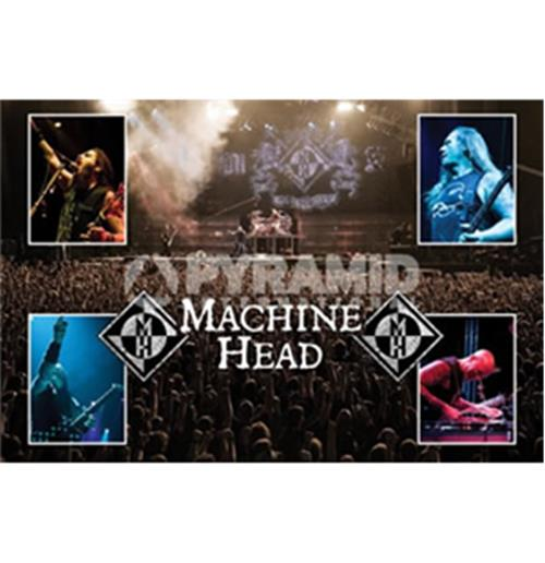 Poster Machine Head-Live