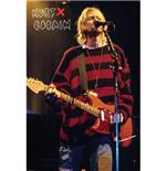 Poster Kurt Cobain-Singing