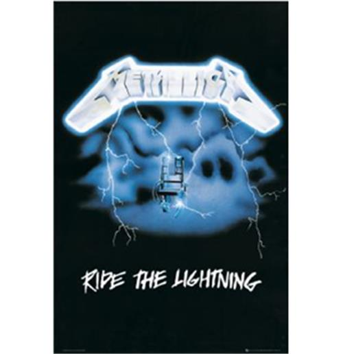 Poster Metallica-The Ride Lightining