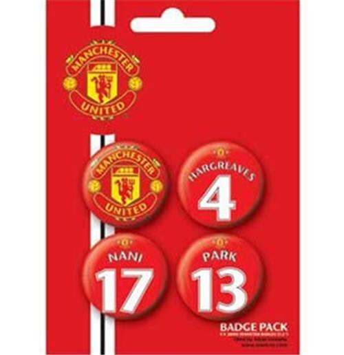 Set Spille Manchester United-Players3
