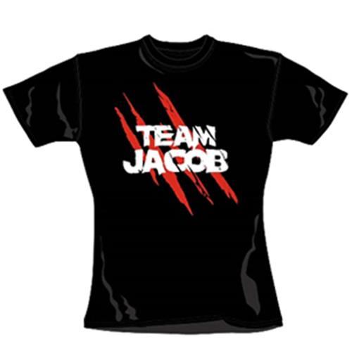 T-shirt da donna Twilight-Team Jacob