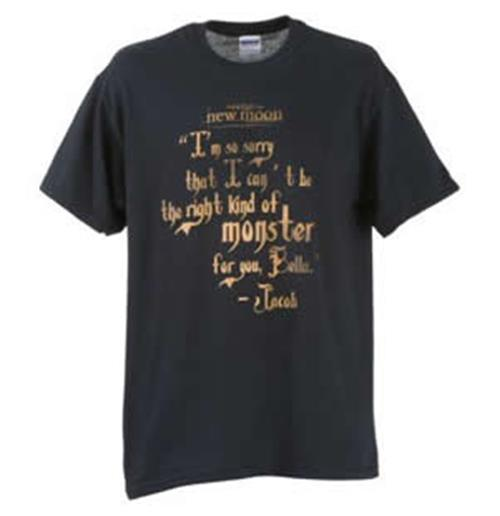 T-shirt Twilight New-Moon Monster