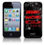 Cover Skin iPhone 4G Jay Z - Red Logo. Prodotto ufficiale Emi Music