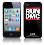 Cover Skin iPhone 4G Run Dmc - Logo. Prodotto ufficiale Emi Music