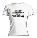 T-shirt Coldplay Every Teardrop. Maglia ufficiale Emi Music