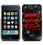 Cover Iphone 3G/3GS Jay Z - Red Logo. Prodotto ufficiale Emi Music