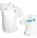 T-SHIRT Italia Volley Fun Bianca
