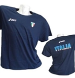 T-SHIRT Italia Volley Fun Blu