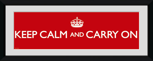 Poster Keep Calm and Carry On 62790