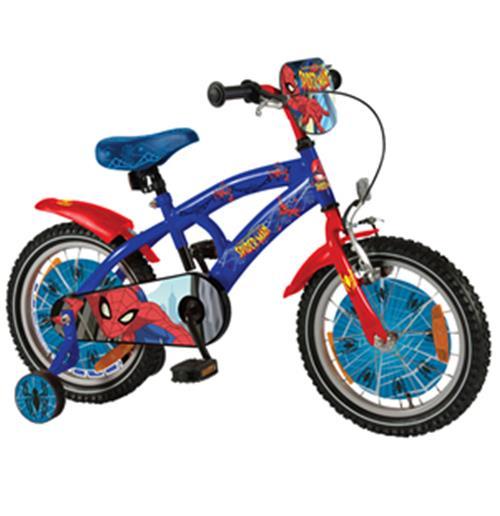 Bici Spider Man Misura 14 4 5 Anni
