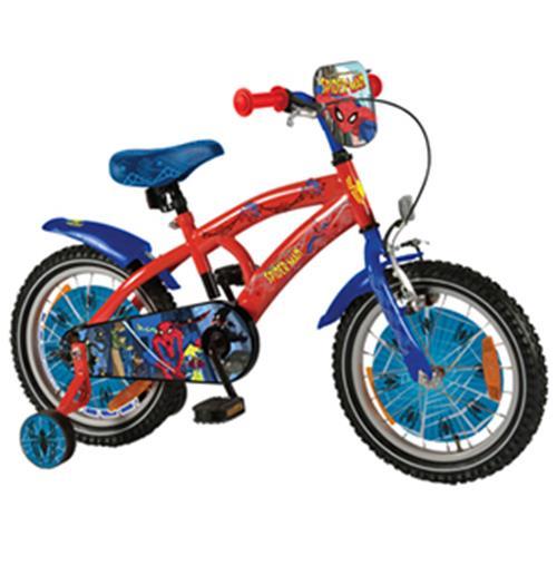 Bici Spider Man Misura 16 6 8 Anni