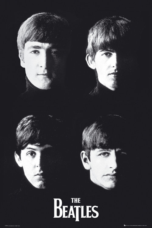 Poster The Beatles With The