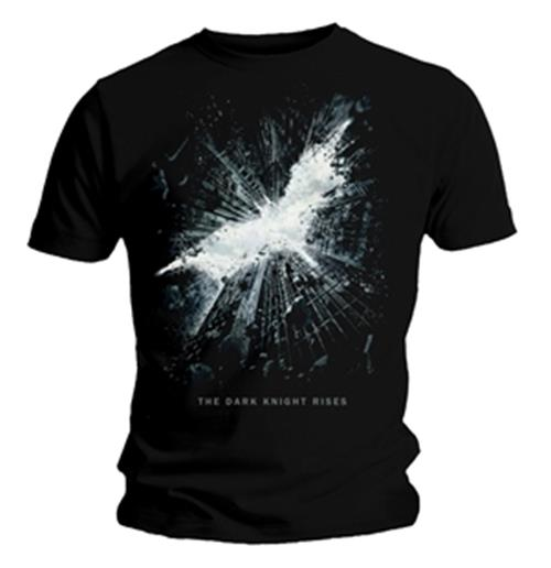 T-shirt The Dark Knight Cityscape Logo . Prodotto ufficiale Emi Music e The Dark Knight Rises