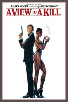 Poster James Bond - 007 A View To A Kill