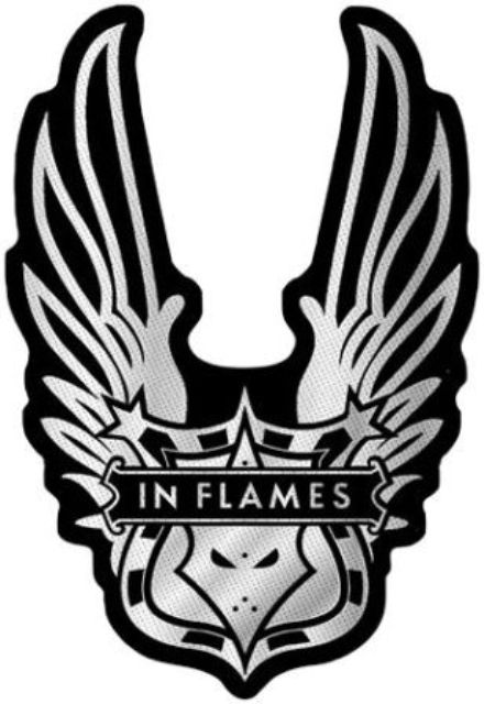 Toppa In Flames Winged Logo Cut Out