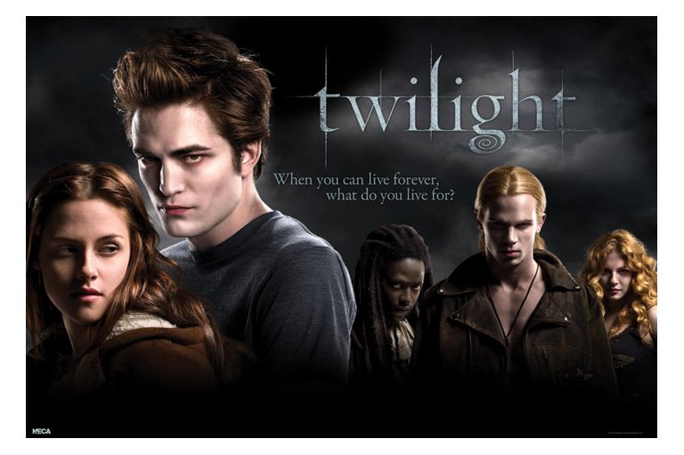 Poster Twilight Cast