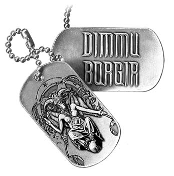 Dog Tag / Piastrina Dimmu Borgir