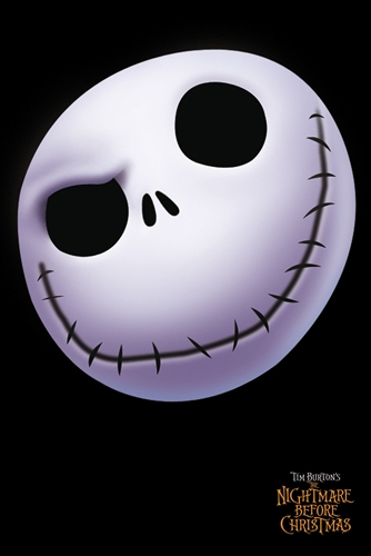Poster Nightmare before Christmas Face Jack