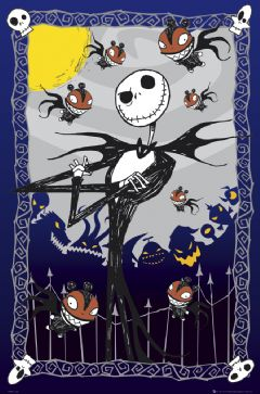 Poster Nightmare before Christmas Glow