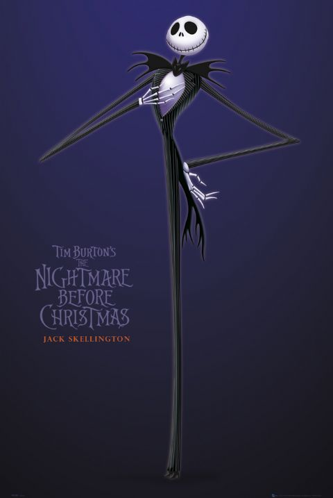 Poster Nightmare before Christmas Jack