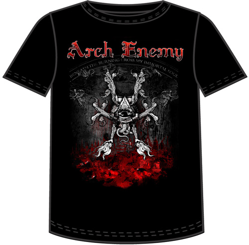 Maglia Arch Enemy - Rise Of The Tyrant