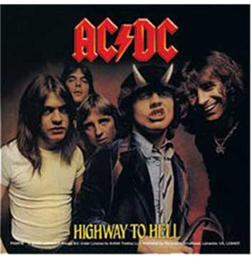Adesivo AC/DC - Highway To Hell