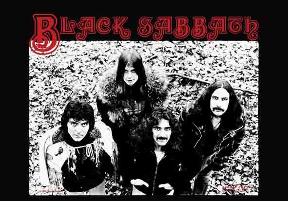 Bandiera Black Sabbath - Band