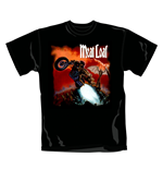 T-shirt Meat Loaf Bat Out Of Hell. Maglia ufficiale Emi Music