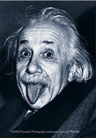 Portachiavi Albert Einstein Face