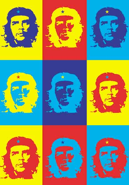 Bandiera Che Guevara - Pop Art