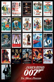 Poster James Bond Movies