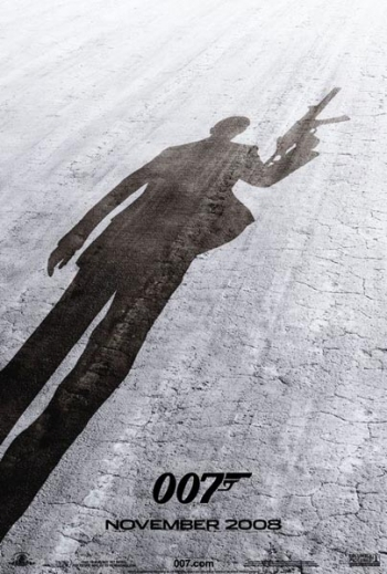 Poster James Bond Quantum Of Solace