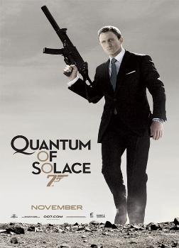 Poster James Bond Quantum Of Solace (GUN)
