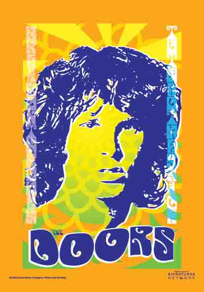 Bandiera The Doors - Orange