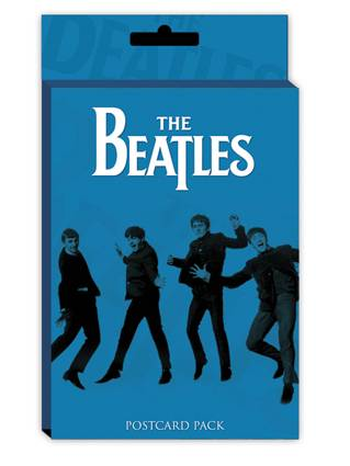 Cartolina The Beatles - Blue