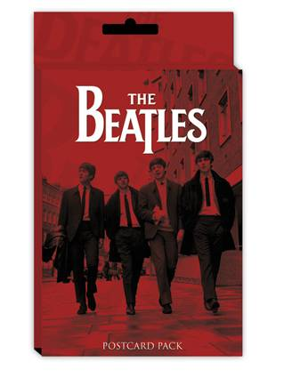 Cartolina The Beatles - Red