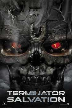 Poster Terminator Salvation Skull
