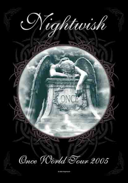 Bandiera Nightwish - Once World Tour