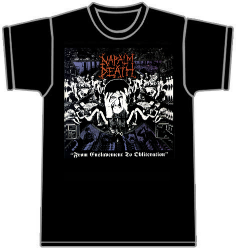 T-shirt Napalm Death 70134