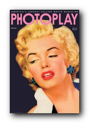 Poster Marilyn Monroe Photoplay Magazine