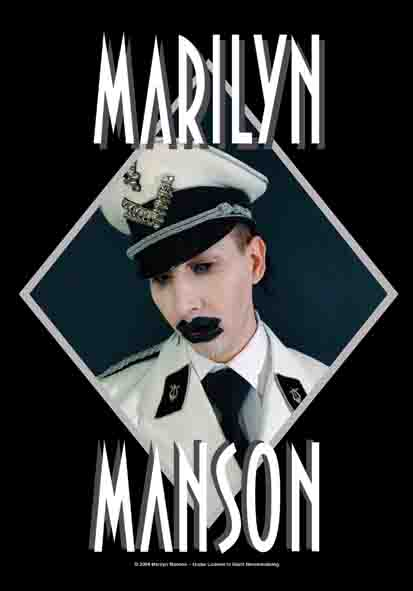 Bandiera Marilyn Manson - Officer
